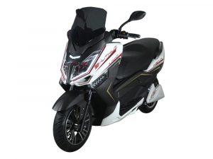 Murasaki XS10 - Moto Eléctrica de Litio 45A blanca