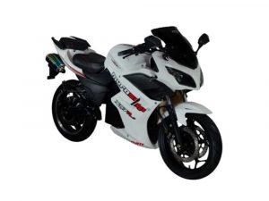 Murasaki XS7R – Moto Eléctrica de Litio blanca