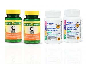 vitamina c y multivitaminas