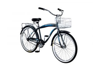 Bicicleta a pedal 26 cruiser man negra