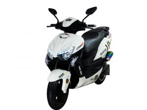 Moto eléctrica – MURASAKI XS6 LIFEPO4 Military Edition blanca