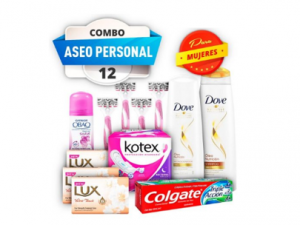 Combo #12 aseo personal pst