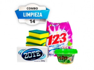 Combo #14 aseo personal pst