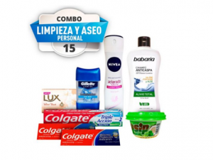 Combo #15 aseo personal pst