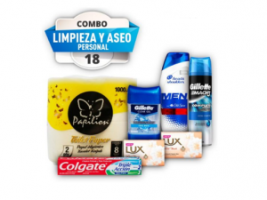 Combo #18 aseo personal pst