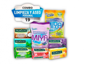 Combo #19 aseo personal pst