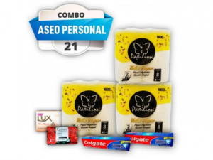 Combo #21 aseo personal pst