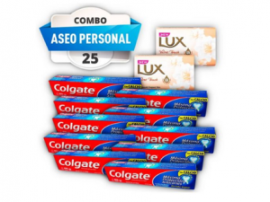 Combo #25 aseo personal