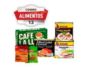 Combo de Alimentos #13 PST