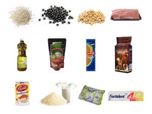 Combo Mixto de Aseo y Alimentos SS17