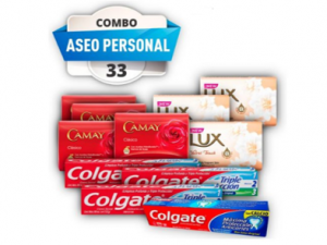 combo #33 aseo personal pst