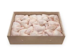 Caja de pollo de 33 lb