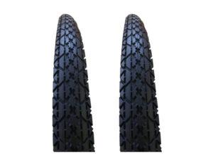 Juego de neumáticos para bicicleta con recámara 26 x 2 LISTO