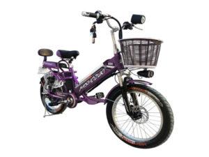 Bicicleta Electrica Mishozuki 500w MORADA