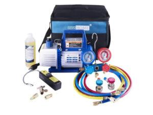 Kit bomba de vacío y accesorios 1-3 HP 4CFM VivoHome