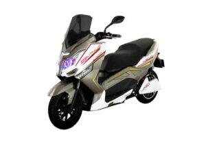 Moto Eléctrica MURASAKI XS10 Life PO4 72V50AH Confort Series Blanca