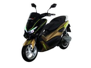 Moto eléctrica MURASAKI XS9 LITHIUM-ION 72V50AH negra