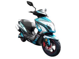 moto electrica big shark AZUL