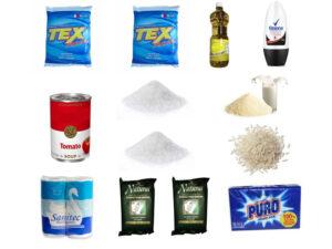 Combo Mixto de Aseo y Alimentos SS21