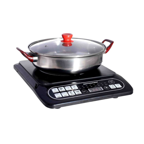 Cocina de inducción con olla cocina eléctrica