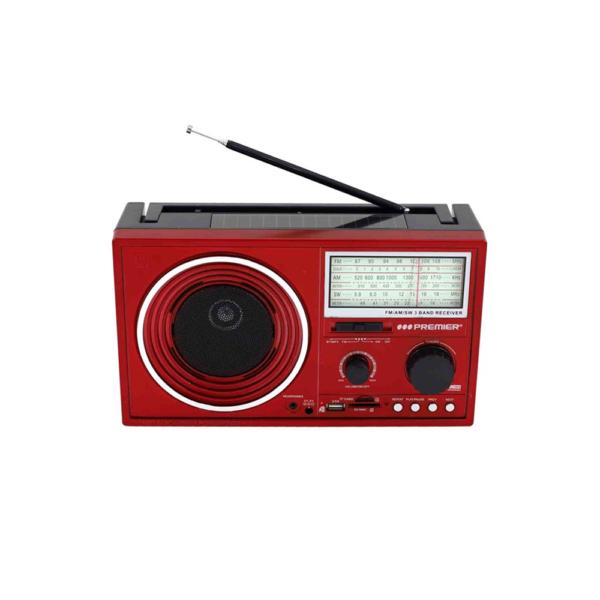 Radio recargable, radio portátil radio marca premier