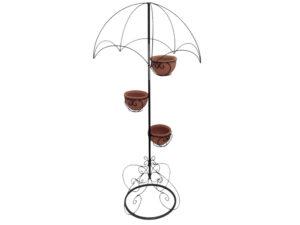 Sombrilla decorativa para el jardín sombrilla con porta macetas decoraciones para el hogar para La Habana, Artemisa y Mayabeque Cuba