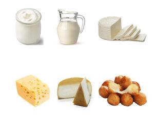 Combo de lácteos, queso, yogurt leche a cuba de entrega rápida